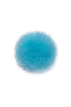 Fox Pom Blue Raspberry