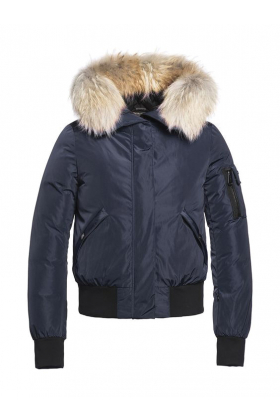 Bomba Jacket Raccoon Fur