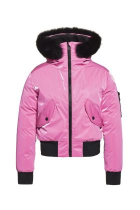 Bomba Jacket Fox Fur
