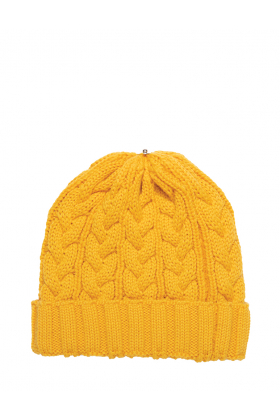 Charlie Cable Hat Aspen Gold