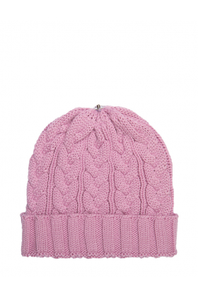 Charlie Cable Hat Cotton Candy
