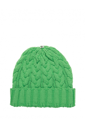Charlie Cable Hat Electric Green