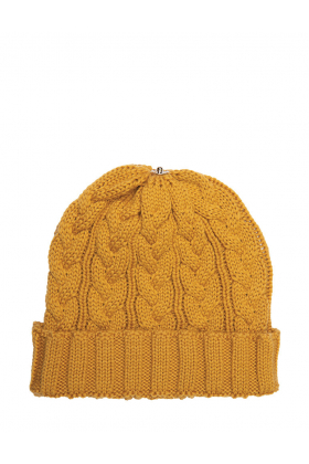 Charlie Cable Hat Golden
