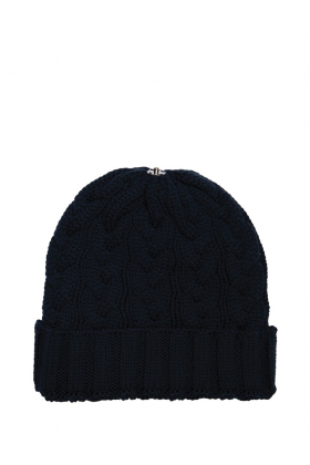 Charlie Cable Hat Midnight Navy