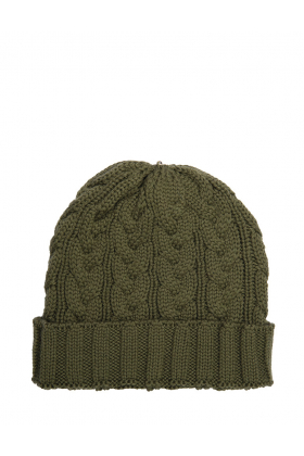 Charlie Cable Hat Olive