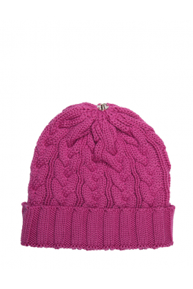 Charlie Cable Hat Orchid