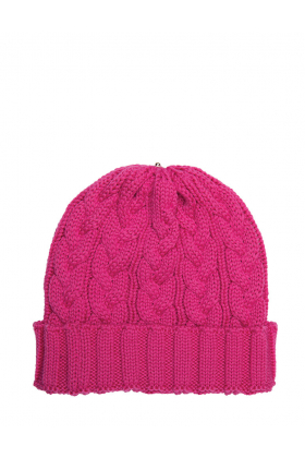 Charlie Cable Hat Popsicle Pink