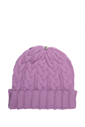 Charlie Cable Hat Violet Dream
