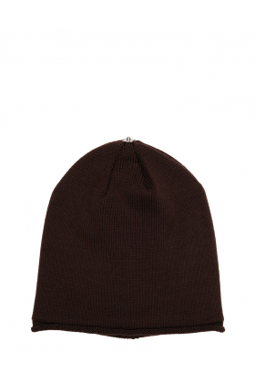 Glossy Hat Adult Chocolate