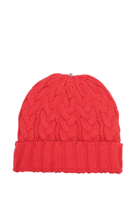 Charlie Cable Hat Coral