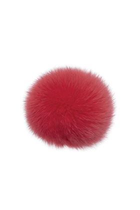 Fox Fur Pom Watermelon