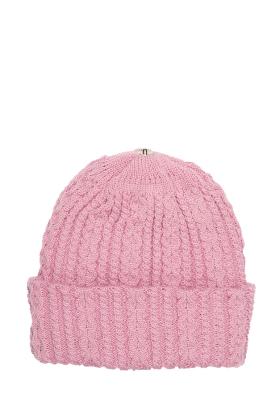 Lindo F Cotton Candy Sasha Hat Toque Beanie Interchangeable Pom