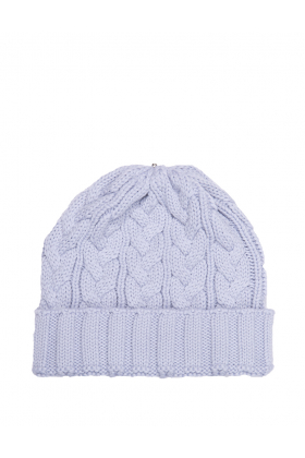 Charlie Cable Hat Dove