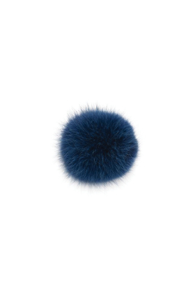 Coyote Pom Electric Blue
