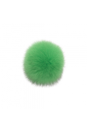 Fox Pom Electric Green
