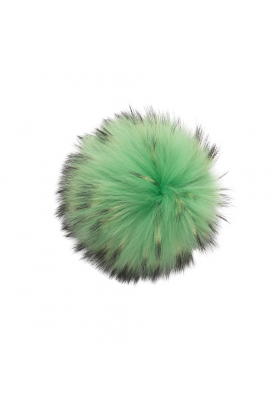 Raccoon Pom Electric Green