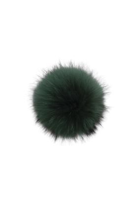 Raccoon Pom Emerald