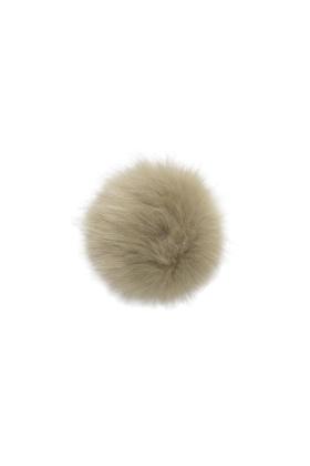 Faux Fox Fur Pom Pistachio