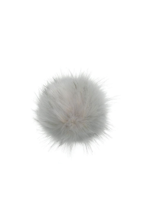Faux Fur Raccoon Pom Andalusian