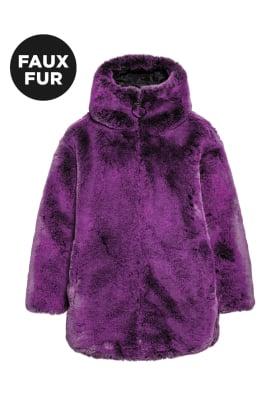 Furina Faux Fur Coat