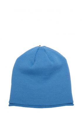 Glossy Hat Adult-Denim Blue