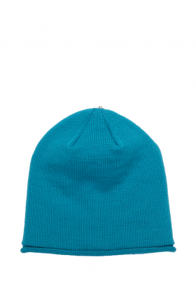 Glossy Hat Rich Turquoise