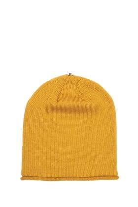 Lindo F Golden Glossy Hat toque Beanie Interchangeable Fur Pom Pom Pom Hat