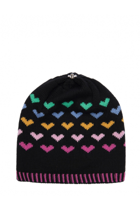 Hailey Hat Black Multi