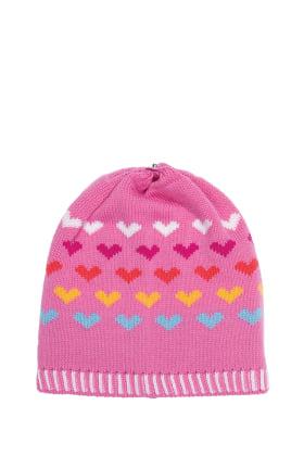 Lindo F Hailey Hat Beanie Toque Poker Pink Merino Wool