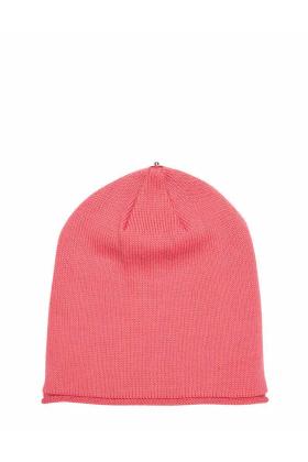 Lindo F Juicy Merino Wool Glossy Toque Beanie Hat
