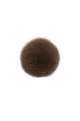 Fox Fur Pom Latte
