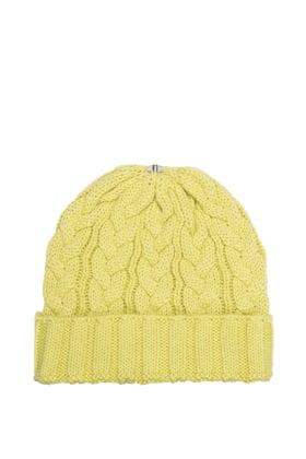 Charlie Cable Hat Lemon Lime