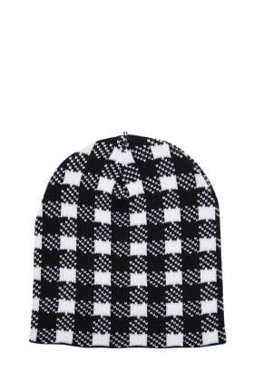 Mary Ann Hat-Black & White