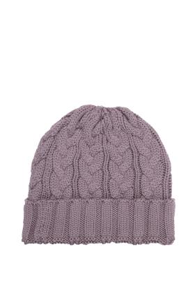 Charlie Cable Hat Mauve