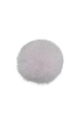 Fox Fur Pom Mauve Linen