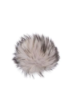 Raccoon Pom Mauve Linen