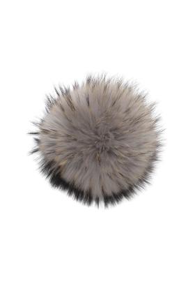 Raccoon Pom Mid Grey