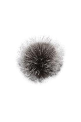 Silver Fox Natural Pom