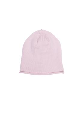 Glossy Hat Newborn Petal Pink
