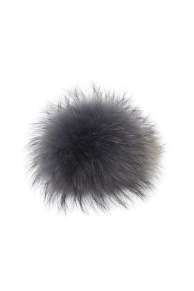 Raccoon Pom Pewter