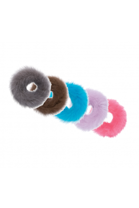 Pick Your Own - 5 Pack Mink Fur Scrunchies