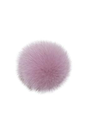 Fox Fur Pom Pink Mauve
