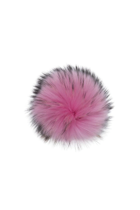 Raccoon Pom Poker Pink