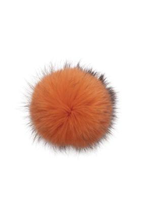 Raccoon Pom Puffin Orange