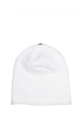 Glossy Hat Adult Pure White