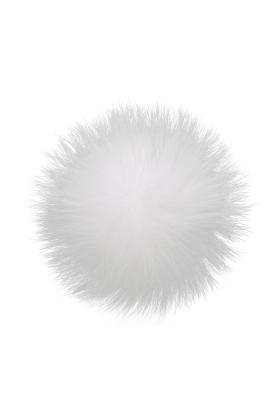 Raccoon Pom Pure White