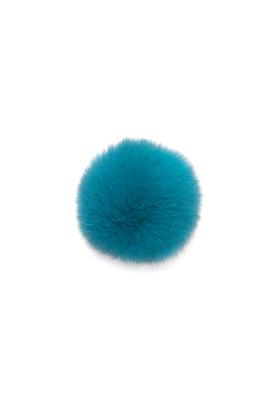 Fox Pom Rich Turquoise