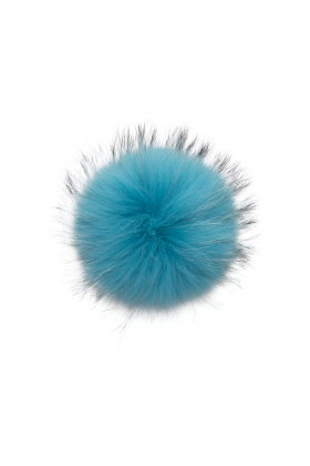 Raccoon Pom Rich Turquoise