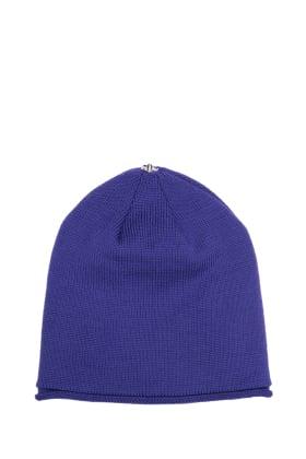 Glossy Hat Adult Royal Purple