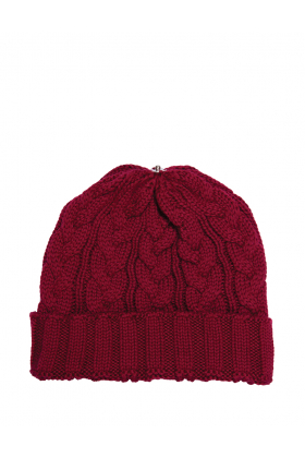Charlie Cable Hat Shiraz